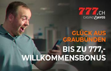 Casino777.ch Bonus