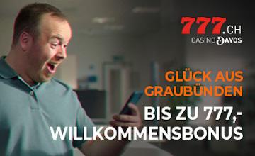 Casino777.ch - Holen Sie sich jetzt Ihren Casino-Bonus!