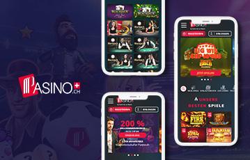 Pasino.ch mobiles Casino