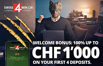 Swiss4Win Casino Bonus