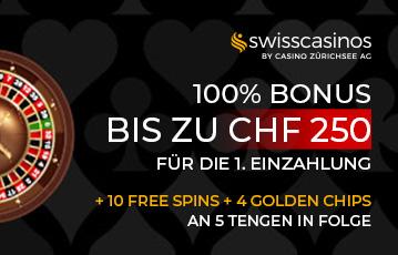 SwissCasinos Bonus
