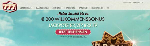 777 Casino Erfahrungen und Test