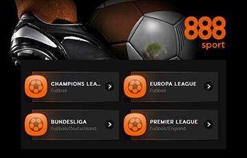888sport Fußball Wetten