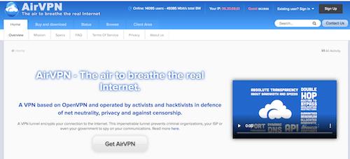 AirVPN Erfahrungen und Test