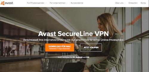 Avast SecureLine VPN Erfahrungen und Test