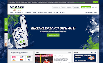 bet-at-home Pros und Contras