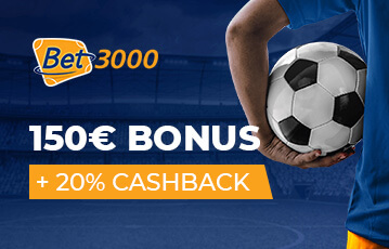 Bet3000 Sportwetten Bonus