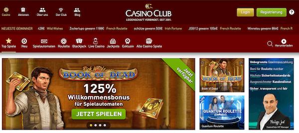 Casino Club Pros und Contras