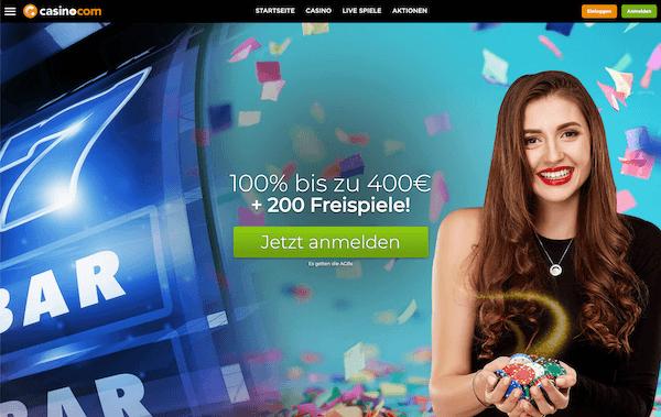 Casino.com Pros und Contras