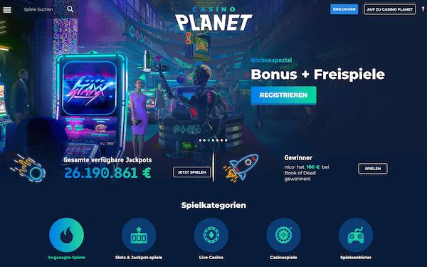 Casino Planet Pros und Contras