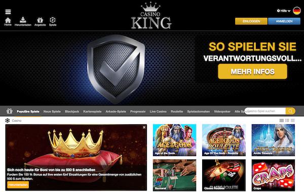 CasinoKing Erfahrungen und Test