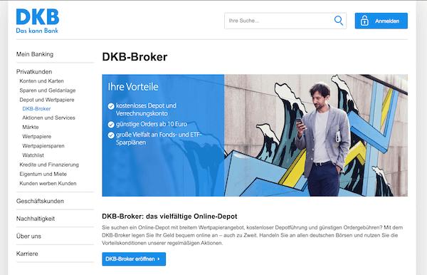 DKB Broker Aktiendepot