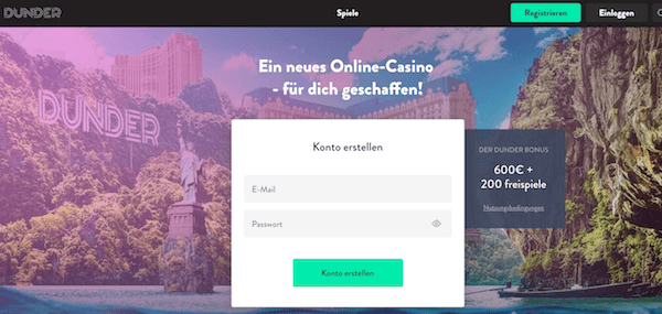 Dunder Casino Erfahrungen und Test