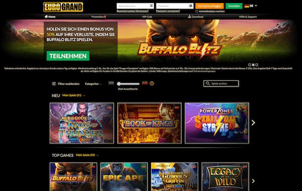 Eurogrand Casino Erfahrungen und Test