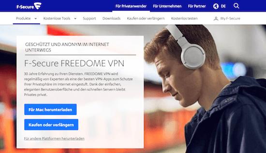 F-Secure VPN Erfahrungen und Test