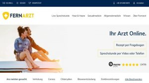 Fernarzt Erfahrungen: Ist Fernarzt.com legal und seriös für deutsche Patienten?