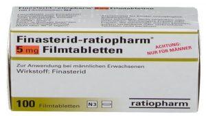 Finasterid 5 mg online bestellen: Online Rezept vom Arzt