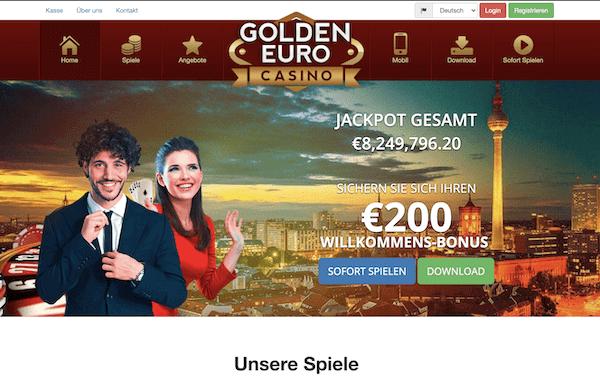 Golden Euro Casino Erfahrungen und Test