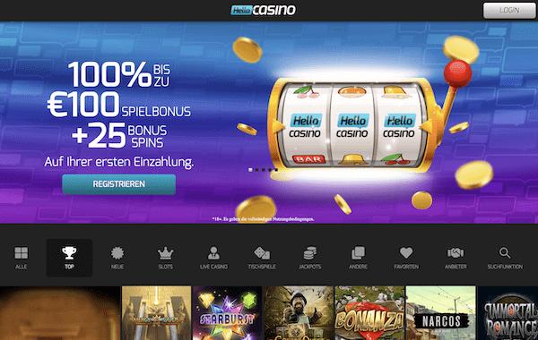 Hello Casino Erfahrungen und Test