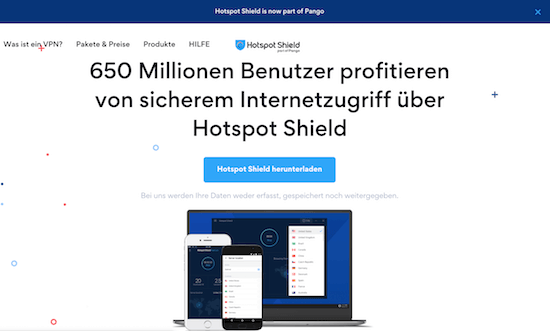 Hotspot Shield VPN Erfahrungen und Test