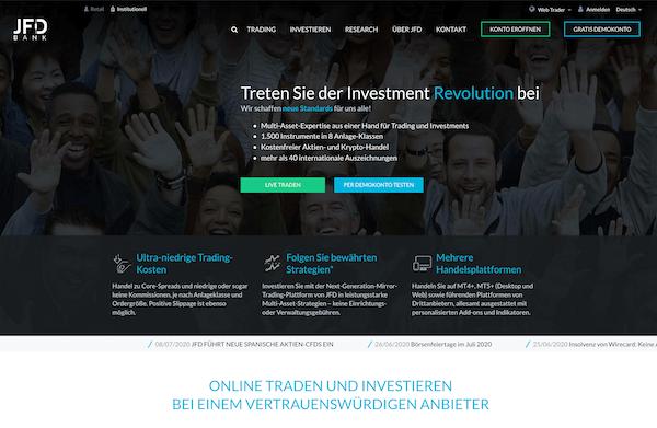 JFD Brokers Pros und Contras