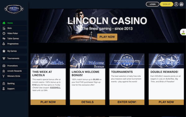 lincoln casino Pros und Contras