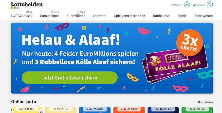 Lottohelden Auszahlung
