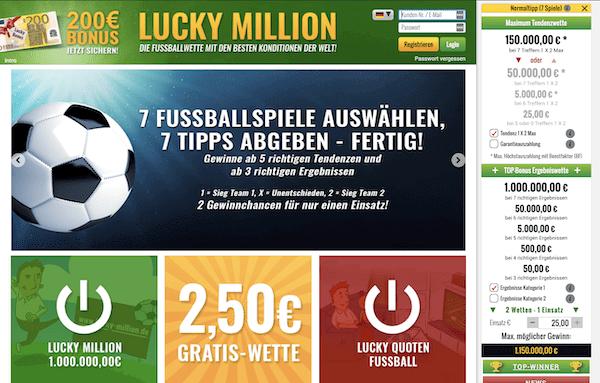 Lucky Million Pros und Contras