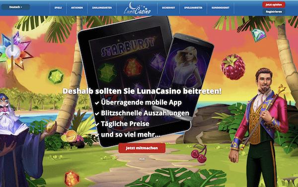 Luna Casino Erfahrungen und Test