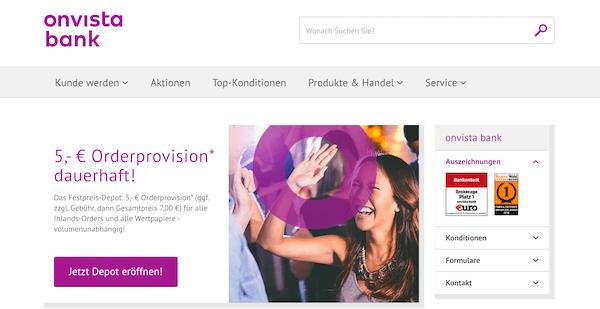 OnVista Bank Erfahrungen und Test