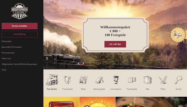 OrientXpress Casino Pros und Contras