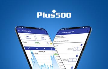 Plus500 mobile Handelsplattform