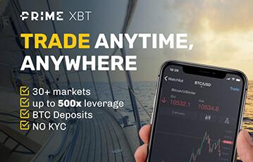PrimeXBT Mobile Trading
