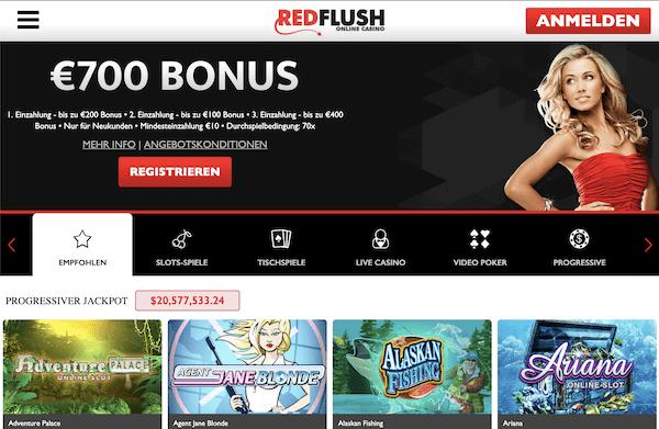 Red Flush Casino Erfahrungen und Test