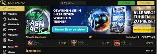 Rich Casino Erfahrungen und Test