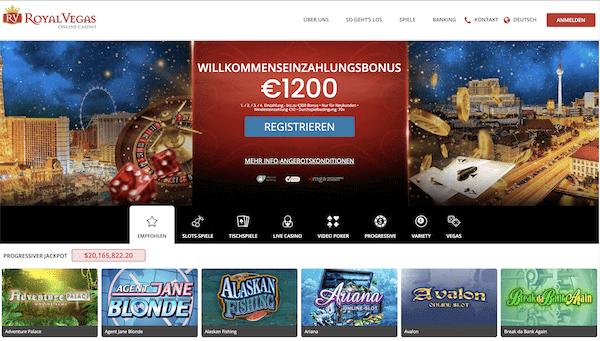 Royal Vegas Casino Erfahrungen und Test