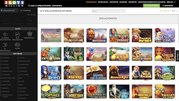 SlotsMillion Casino Erfahrungen und Test