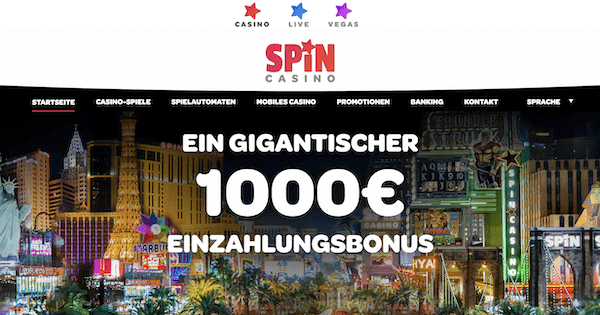 Spin Palace Pros und Contras