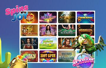 SpinsJoy Spiele