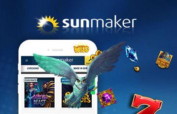 Sunmaker Spielhallen App