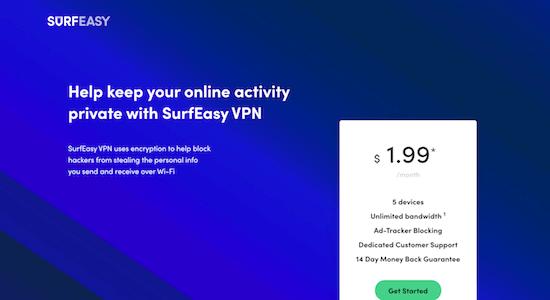 SurfEasy VPN Erfahrungen und Test