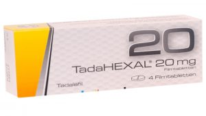 TadaHexal bestellen: Online Rezept vom Arzt inkl.