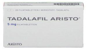 Tadalafil Aristo bestellen: Online Rezept vom Arzt inkl.
