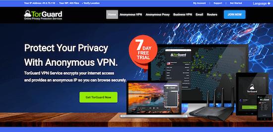 TorGuard VPN Erfahrungen und Test