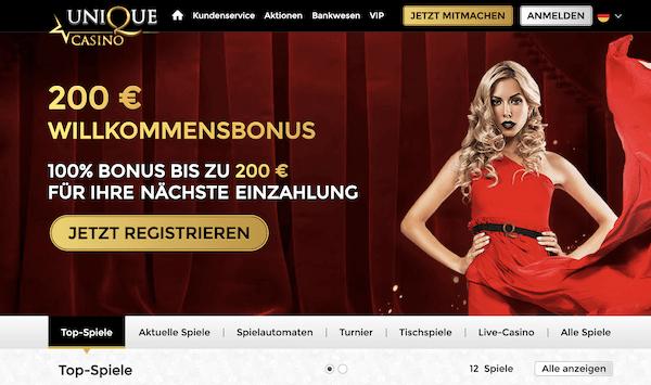 Unique Casino Pros und Contras