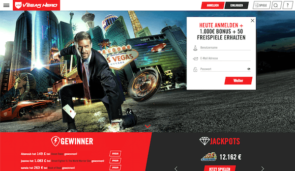 Vegas Hero Pros und Contras
