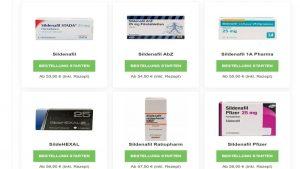 Viagra Generika online kaufen: Online Rezept vom Arzt inkl.
