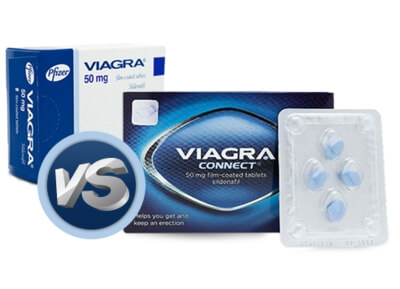 Viagra vs Viagra Connect