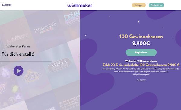 Wishmaker Casino Erfahrungen und Test