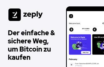 Zeply einfach Bitcoin kaufen